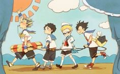 There so cute. And Kuroo's bag with the cat on it!!