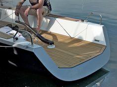 Boat Building, Sailboat, Sailing, Deck, Luxury, Inspiration, Sailing Yachts, Boats, Sailing Boat