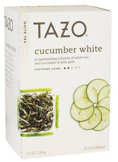 Tazo Cucumber White Tea, 20 ct - http://teacoffeestore.com/tazo-cucumber-white-tea-20-ct/