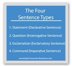Diagramming Sentences Declarative Marine Electric Fuel Pump Wiring Diagram 28 Best Sentence Awesome Images English Grammar There Are Four Types That You Should Know Learn What They And How