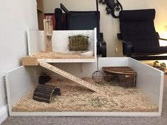 Another great job for guinea pig cage