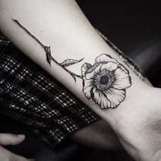 """This flower tattoo reminds me of the lyrics to the song """"If You Could See Me Now"""" by The Script"""