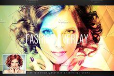 Hi-Fi Photo Overlay #1 by Sherman Jackson on @creativemarket