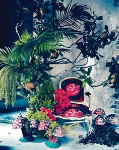 Interior inspiration: an enchanted forest - Vogue Living