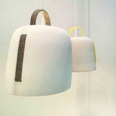 Cowbell lamp! Last shoot before take down. // Lámpara Cowbell. Última foto antes de descolgarla.  #lighting #lampara #cowbelllamp #diseño #design #light #productdesign #interiordesign #interiorismo #homedecor #homedecoration #instadesign #instadecor #home #lamp #massmi #decoration #decoracion #silviacenal