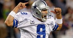 Tony Romo #9 (QB) for the Dallas Cowboys