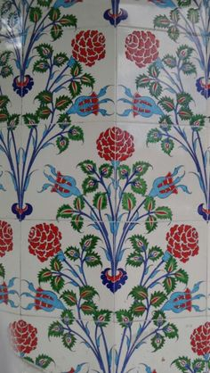 Tile from Isparta