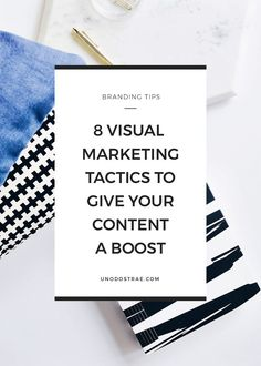 8 Visual Marketing Tactics To Boost Your Content and Stand Out Email Marketing Design, Digital Marketing Services, Online Marketing, Marketing Ideas, Business Marketing, Business Tips, Media Marketing, Marketing Tactics, Content Marketing Strategy