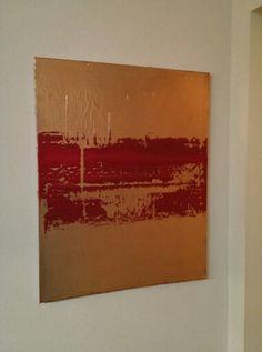 24x30 Modern Abstract Acrylic