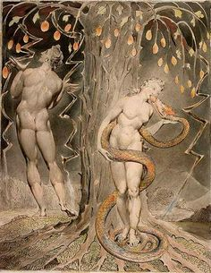 William Blake, The Temptation and Fall of Eve