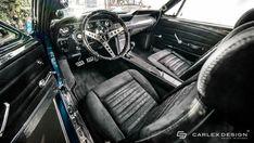 O interior de fibra de carbono deste Ford Mustang 1967 é uma das coisas mais bonitas do mundo