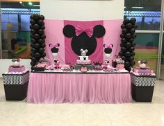 Minnie Mouse Pink Party!!!