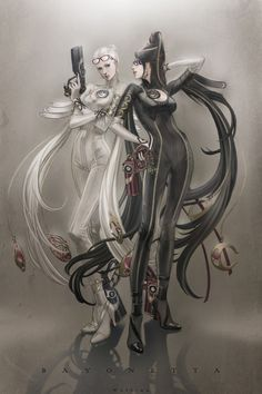 Devil May Cry and Bayonetta • Bayonetta and Jeanne