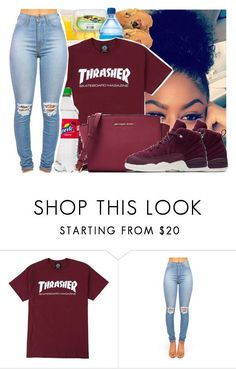 """""""Untitled #1657"""" by bubblesthegr8t ❤ liked on Polyvore featuring NIKE and MICHAEL Michael Kors Dope Outfits, Teen Fashion Outfits, Swag Outfits, Cute Fashion, Girl Outfits, Casual Outfits, Jordan Outfits, Outfit Goals, Fashion Killa"""