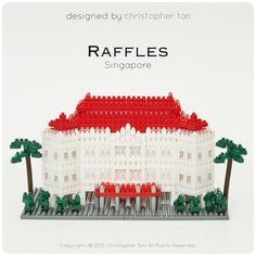 « Raffles Hotel is an iconic landmark in Singapore. Here is my nanoblock version  ... http://fb.christan.design ... #chrisnanoblock #nanoblock #nanoblocks… »