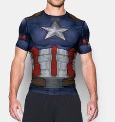 Men's Under Armour® Alter Ego Captain America Compression Shirt