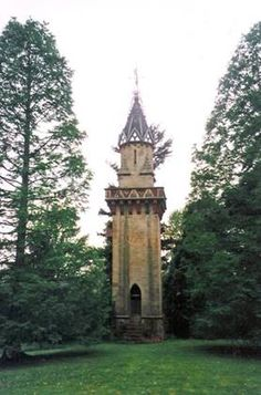 Oteley Hall Folly Tower, Ellesmere  Folly Tower, Oteley Hall Oteley Hall was built for Charles Kynaston Mainwaring around 1830 and the gardens were laid out in an Italian style in 1835,. It would be during this time that the tower was built. The hall was rebuilt following a fire during the early 20th Century.