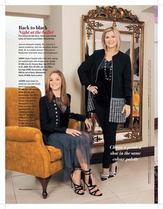 Gorgeous skirt featured in magazine! Thanks for the feature! Back To Black, All Black, House And Home Magazine, Ballet Dancers, Daughter, Velvet, Glamour, Woman, Lace