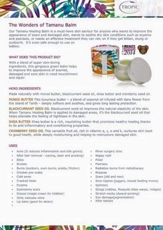 Hi everyone. I wanted to let you know about a particular product called the Tamanu Healing Balm. It's an amazing product, which is highly effective on numerous skin conditions (see photo below). If you would like to buy the Tamanu Healing Balm or anything else from the Tropic range, please go to my online shop at: https://www.tropicskincare.co.uk/shop/shabarisaha - #TropicSkinCare - Tropic Skin Care