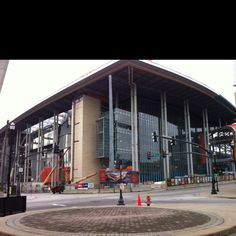 A corner of the new monster Music City Convention center. Nashville TN