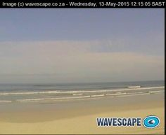 The webcam at Strand Lifesaving Club shows the surf and part of the main beach at the Strand, which lies in the eastern corner of False Bay. Image refreshes at five minute intervals.