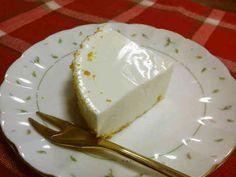 簡単すぎてありがたすぎる☆簡単レアチーズケーキ♪