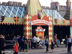Mr Toad's Wild Ride  Always a favorite! It was a C ticket ride  Now it's gone... :(  http://www.yesterland.com/