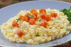 Receita de Risoto de queijo e abóbora em receitas de arroz, veja essa e outras receitas aqui!