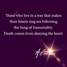 Making the heart sing...