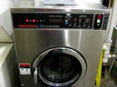 Speed Queen commercial washing machine -- Wash Cycle - YouTube