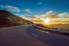 Winding Road Sunset Mountains - Free photo on Pixabay