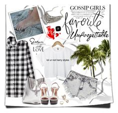 """""""Gossip Girl"""" by patri-fachini ❤ liked on Polyvore"""