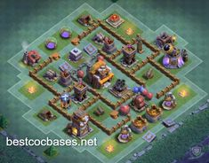 Find the best bases to gain cups! Anti 1 star bases for best defense! It`s time to smash your opponents with best Builder Hall 5 base! Clas Of Clan, Best Defense, Home Staging, Layouts, Cups, Stars, Mugs, Staging