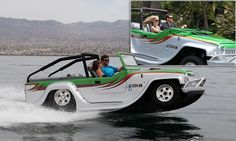 A Californian-based car company has designed the world's fastest amphibious car called the Panther.