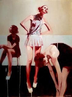 nuncalosabre. Pintura - Michael Carson