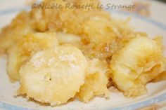 Caramelised Bananas with Coconut