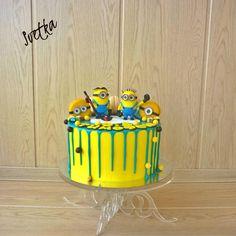 Minions Drip Cake - Cake by Svetka80