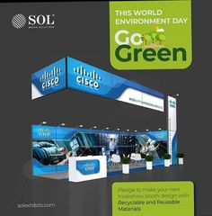 The exhibition industry in USA is continually working towards reducing its harmful impacts on the environment consistently choosing modular and resuable tradeshow structures.This World Environment Day go green by pledging to make your next tradeshow booth design with recyclable and resuable materials Exhibition Company, Exhibition Space, Trade Show Booth Design, World Environment Day, World Days, Experiential Marketing, One Design, Usa, Green