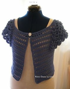 I like this sweater, just NOT the sleeves. I think it can be made without the croco stitch
