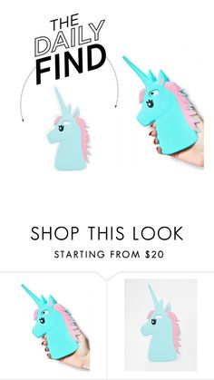 """Daily Find: Unicorn iPhone Case"" by polyvore-editorial ❤ liked on Polyvore featuring ASOS and DailyFind"
