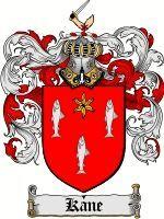 Kane Coat of Arms / Kane Family Crest