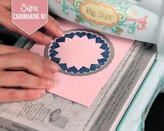 Cardmaking 101 with Sizzix - Scrapbook.com