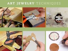 Learn tube riveting or wire riveting. PLUS use your skills to make relevant jewelry projects. Custom Jewelry, Jewelry Art, Beaded Jewelry, Silver Jewelry, Handmade Jewelry, Jewelry Design, Diy Jewelry Projects, Jewelry Making Tools, Pink Stone
