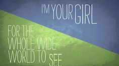 Jamie Grace - God Girl (Official Lyric Video) I'm your girl God. I wait on you. Thankyou for showing me how much more you have instore for me, greater than any plan I had.