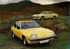 Based on the German Opel Ascona and Manta, launched November the Vauxhall Cavalier GL Saloon and Coupe: 1975 Old Bangers, Vauxhall Motors, Vintage Cars, Antique Cars, Fiat 850, Aston Martin Db5, British Car, Old Classic Cars, Car Advertising