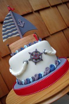 Sail away... - by ATKHcakecreations @ CakesDecor.com - cake decorating website