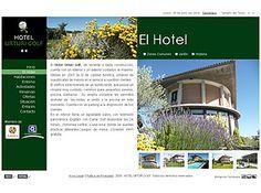 Hotel Urturi Golf. Pasamos de una web con tan sólo cinco fotos y un mapa estático a una web visual y atractiva, accesible, intuitiva, con sistema de reservas, galerías de fotos, y sobre todo, que vende más...