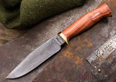 Jesse Hemphill Knives: Hunter - Tulipwood - 062204