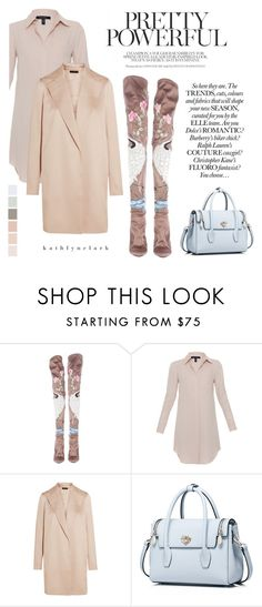 """""""356 : Pretty Powerful - Tom Ford for YSL Thigh High Silk & Ostrich Boot."""" by kathlynclark ❤ liked on Polyvore featuring Tom Ford, Xander and The Row"""