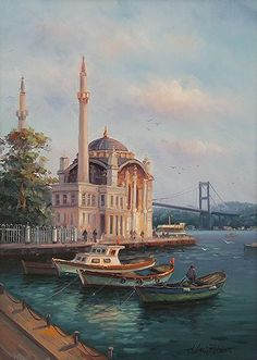 Amasya doğumlu olan Mehmet Razi Haksever , resim eğitimini Amasya Güzel Sanatlar Atölyesinde tamamladı.             Daha sonra Samsun'lu ... Oil Painting Pictures, Georges Braque, City Art, Venice Italy, Beautiful Paintings, House Painting, Urban Art, Pretty Pictures, All Art